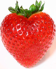 I've found the perfect strawberry!