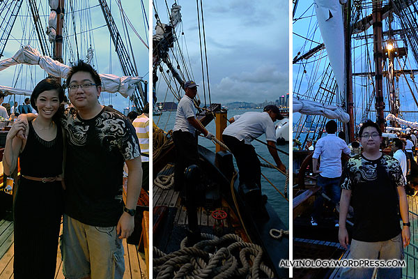 More pictures on board the Bounty