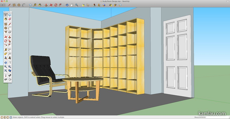 kamlaucom How To Use Google SketchUp for Interior Design