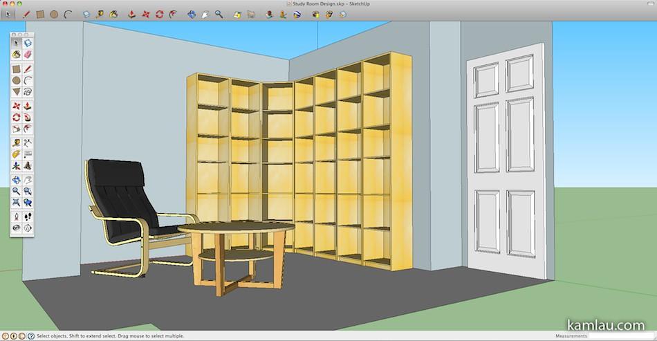 Google Sketchup Interior Design