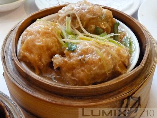 Gold Leaf - Ginger prawn dumplings