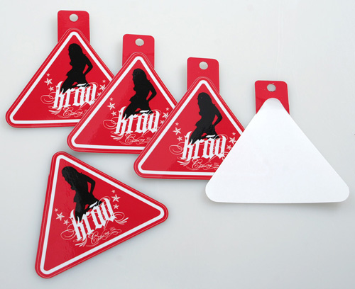 Sticker Hang Tags