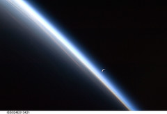 Crescent Moon, Earth's Atmosphere (NASA, International Space Station Science, 09/04/10) [EXPLORED] (NASA's Marshall Space Flight Center) Tags: asia earth atmosphere nasa crescentmoon internationalspacestation stationscience crewearthobservation
