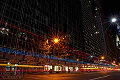 Light Streaks (chris_stern iphoneography) Tags: nyc color night nikon empirestatebuilding streaks bryantpark lr lightroom d90 1755mm colorefexpro nikond90 flickrgolfclub