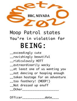 Moop Patrol Violation