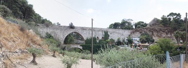panorama ottoman era aquaduct