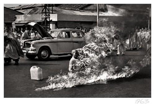 11-6-1963 thich quang duc bonzo en saigon