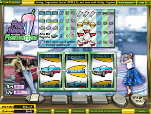 Malt Shop Memories slot game online review