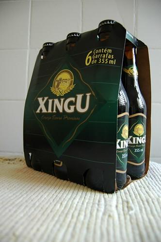 Cerveja Xingu - amostra grátis