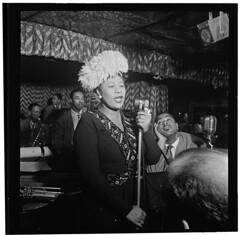[Portrait of Ella Fitzgerald, Dizzy Gillespie,...