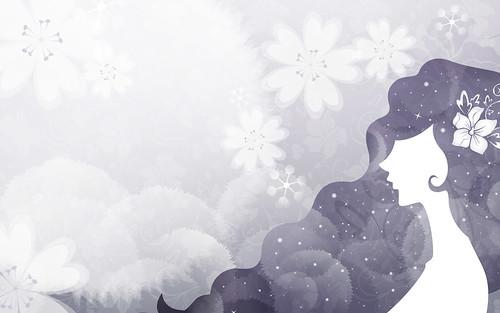 [フリー画像] グラフィックス, イラスト, 人物(イラスト), 女性, 201009170900