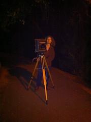 Me on the job (Amanda Tomlin) Tags: night self 8x10 deardorff