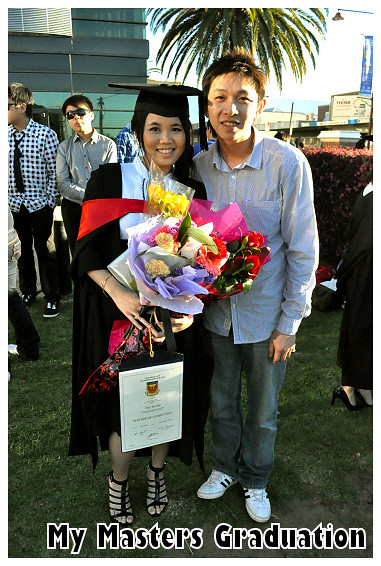 My Masters Graduation 2010: With Richmond