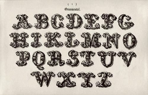 015-Alfabeto ornamenta-Examples of Modern Alphabets… 1913- Freeman Delamottel
