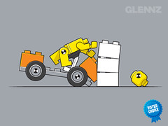 Crash Test Slate T-shirt (Glennz Tees) Tags: test art nerd fashion illustration design funny geek lego crash drawing humor cartoon tshirt illustrator draw popculture tee vector ai apparel adobeillustrator glenz glennjones glenjones glennz gleenz glennnz
