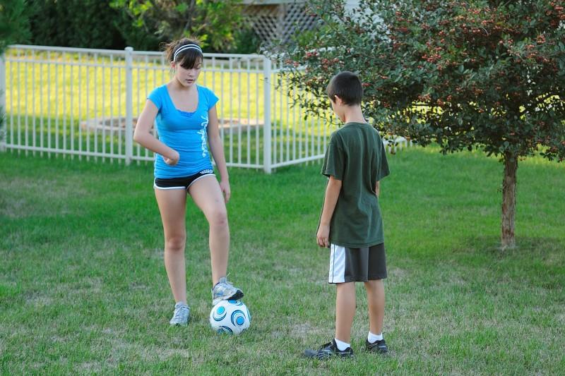 10.09.13 - Soccer Clinic