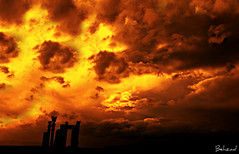 Persepolis (Behzad No) Tags: sky clouds fire persian alone sad iran shiraz pars fars parseh anawesomeshot nikond90 behzadno