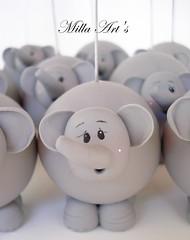detalhe Elefante (Milla Art's) Tags: biscuit