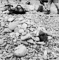 buried (LukeMartley) Tags: light art mamiya c220 beach silver photography rocks buried traditional fine dream f plus inside pan alive process ways alternative gelatine imagery