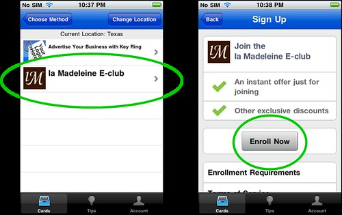 step 3 select la mad eclub