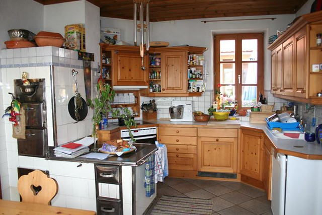 kitchen of our old house
