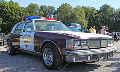 Cadillac Police Car (King-German-Fool) Tags: old usa hot classic ford chevrolet car us buick mercury plymouth meeting cadillac chevy chrome american lincoln dodge rod pontiac chrysler custom tuning kaufbeuren mucle