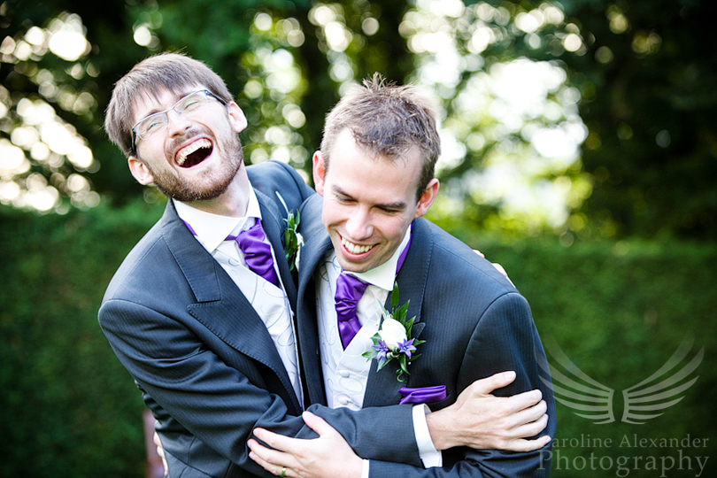 Cirencester Wedding Photographer Bestman and Groom 33