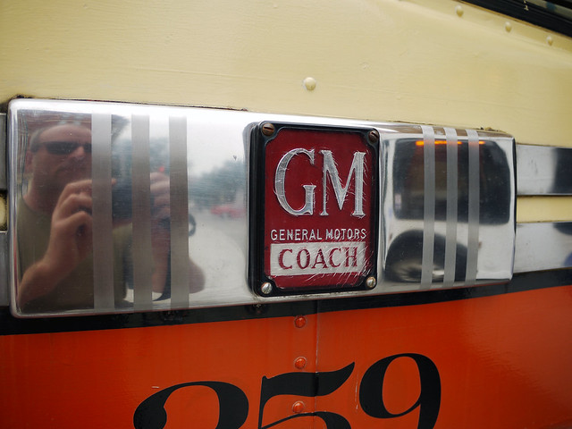 GMC Old Look Transit Bus