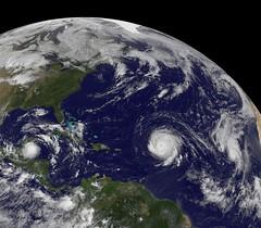 Tropical Storm Karl, Hurricanes Igor and Julia