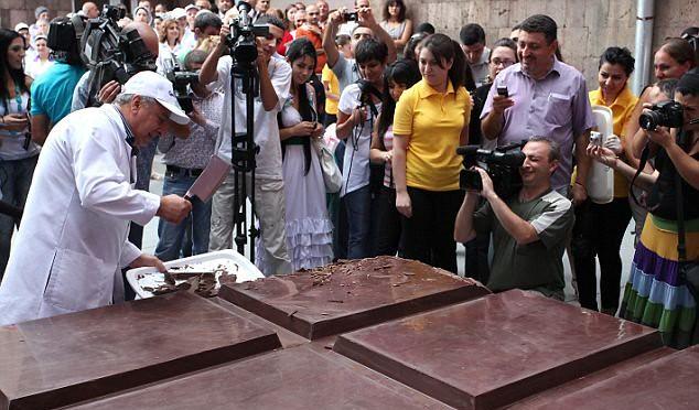 세계에서 가장 큰 초콜릿