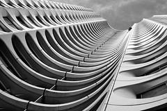 Skeleton [Explored] (_Franck Michel_) Tags: urban bw white black building tower canon noir tour explorer nb explore blanc rennes immeuble urbain explored 400d