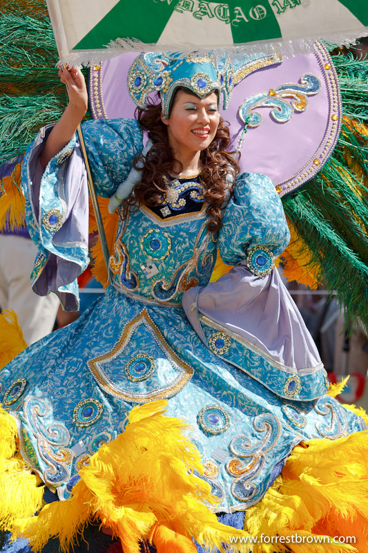 Tokyo, Japan, Samba Festival, Parade
