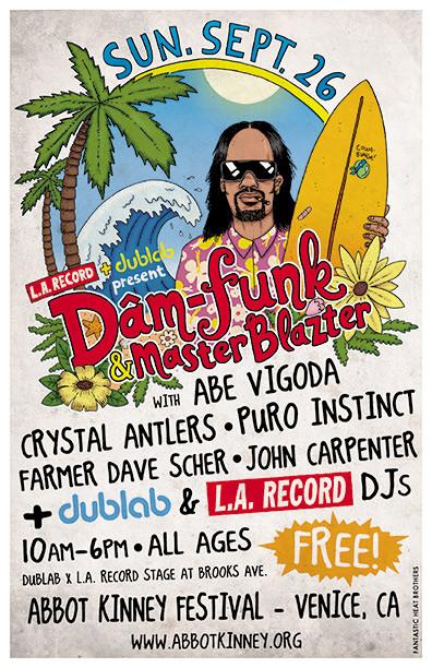 L.A. RECORD X DUBLAB AT ABBOT KINNEY FESTIVAL 2010