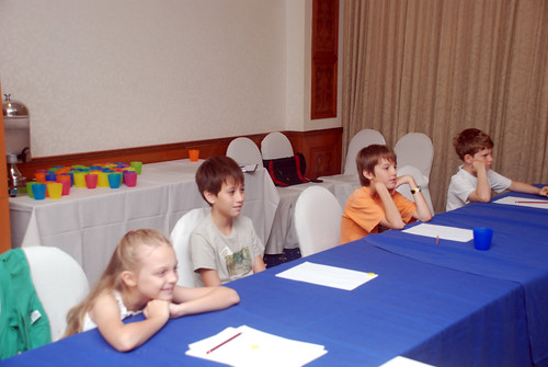 caricature workshop for The British Club - 10