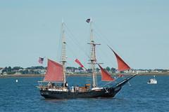Formidable (jelpics) Tags: ocean sea boston sailboat harbor boat ship vessel mast bostonma rigging pirateship bostonharbor formidable