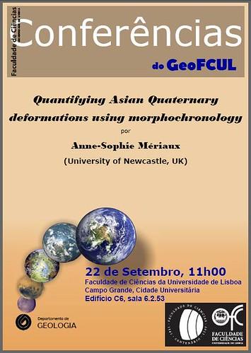 Conferências GeoFCUL