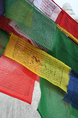 Prayer flags at ABC (deb & devin etheredge) Tags: nepal explore 2009 debetheredge debetheredge2012 debetheredge2011