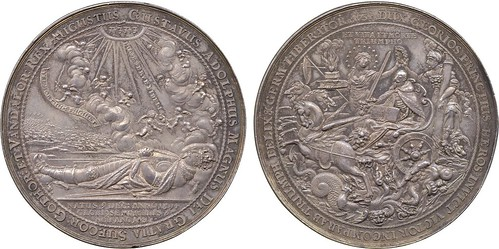 Gustav II Adolf Silver medal