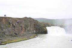 Cascata Goðafoss ou GodafossIslândia
