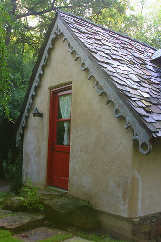 hobbit house back door