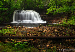 Journey's End - Rock River Falls (Rock River Canyon Wilderness - Hiawatha National Forest) (Aaron C. Jors) Tags: up michigan waterfalls rivers greens rockriver uppermichigan algercounty hiawathanationalforest nationalforests rockriverfalls rockrivercanyonwilderness