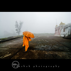 Contrast ! (ayashok photography) Tags: india asian temple nikon asia indian dude desi karnataka bharat bharath desh barat barath gopalaswamybetta nikonstunninggallery krishlikesit ayashok nikond300 tokina1116mm bandipurhills aya0459