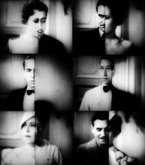 Crosswipes (Dill Pixels (THE ORIGINAL)) Tags: bw cinema classic film movie mosaic headshot hollywood montage murder wipe namethatfilm named detective splitscreen ntf philovance thekennelmurdercase ntf:guessedby=beiceline