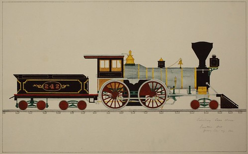 Swinburne Loco. Works, Eastern Div, Jersey City, NJ 1866