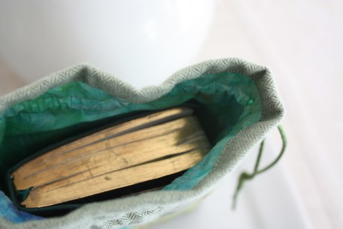 Inside of Bible Bag