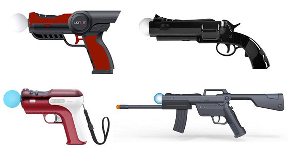 PlayStation Move guns