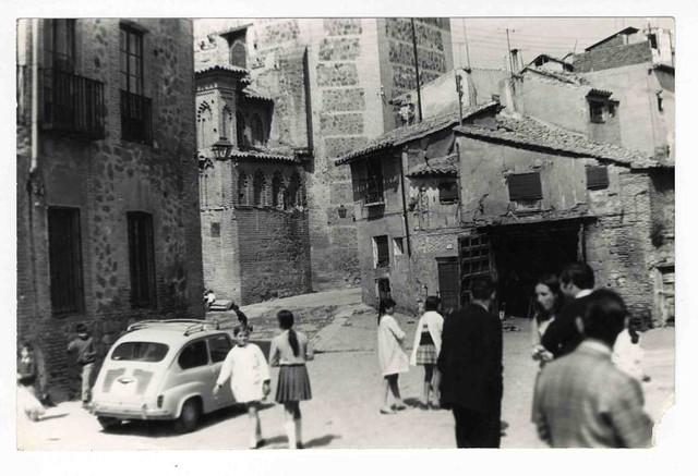 Plaza de Santa Isabel hacia 1970. Colección Luis Alba, Ayuntamiento de Toledo