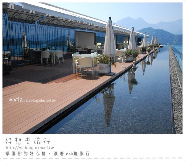 【南投】欣賞日月潭最美角度的餐廳~雲品酒店雲月舫16