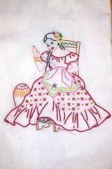vintage patterns Stitch-a-long (anyakase1) Tags: vintage embroidery sewing mexican