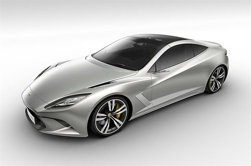 INCOMING ! LOTUS CONCEPT - THE NEW ELITE - BOUND FOR PARIS !